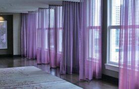 cortinas coloridas a medida marca bandalux